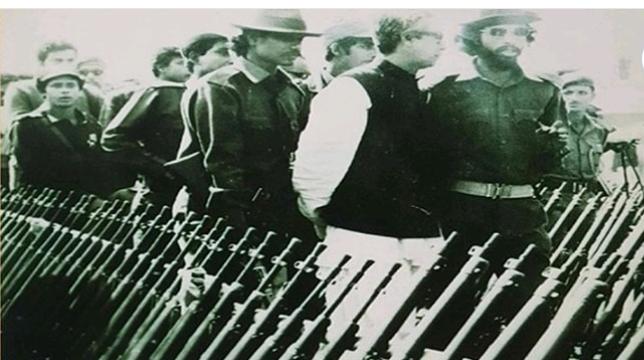 আজ কাদেরিয়া বাহিনীর অস্ত্র জমা দিবস   জাগো সখীপুর
